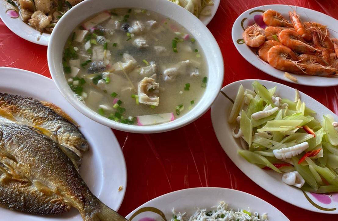 廟埕海鮮餐